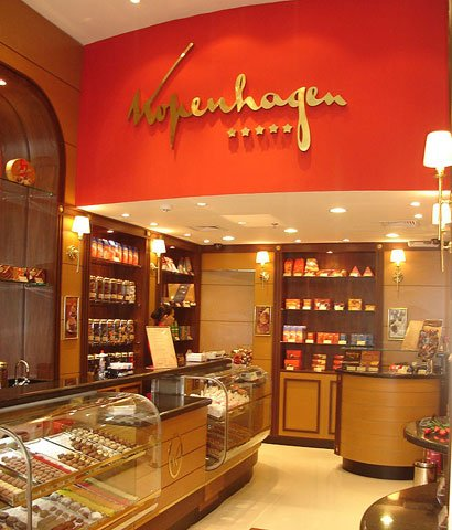 Chocolates Kopenhagen Franquias de Loja e Quiosque
