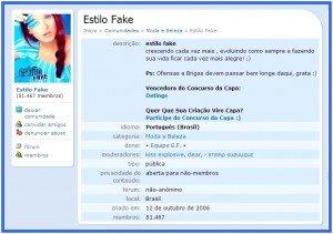 Estilo Fake
