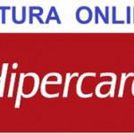 Hipercard 2º via Fatura Online Como Pedir