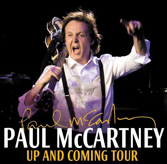 Paul McCartney Show Compre Seu Ingresso