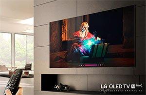 TV LG OLED Inteligência Artificial